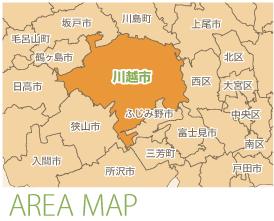 川越市 地図